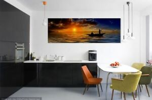 Beautiful & COLORFUL SEA SCENERY- Canvas collection Home decor wall print art