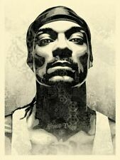 Snoop Dogg Obey Giant Print D-O Double G Signed & Numbered PREORDER
