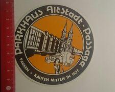 Aufkleber/Sticker: Parken kaufen Mitten in Hof Parkhaus Altstadt (15011710)