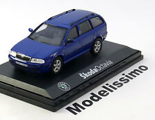 1:43 Abrex Skoda Octavia 1 estate 1998 blue