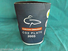 Carlton Draught Cox Plate 2005 - Stubby Drink Can Holder   Horse Racing