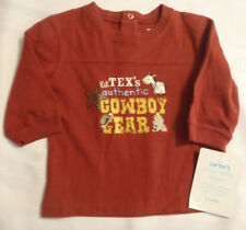 Carter's 6 Months Cotton long Sleeve Cowboy Shirt NWT