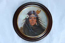 GREGORY PERILLO LIMITED EDITION COLLECTORS POCAHONTAS IN WOOD FRAME