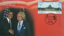 President Barack Obama Visit To Malaysia 2014 Minister FDC (Commemorative Cover)