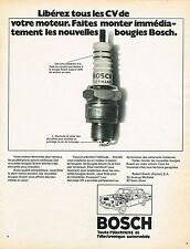 PUBLICITE   1969   BOSCH   bougies