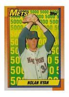1990 Topps Nolan Ryan New York Mets #2 Baseball Card