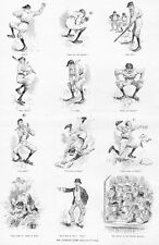 BASEBALL 1889 NATIONAL GAME, UMPIRE, TWO OUT, BATTER