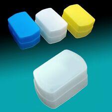 3 Color Blue Yellow White Flash Bounce Diffuser fits Canon 580EX II Nissin Di622