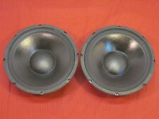 """New (2) 12"""" Woofer Speakers.Guitar.Pro Audio.8 ohm.Dj.Pair.Replacements. Bass."""