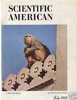 1969 Scientific American July - Urban Monkeys, Milk