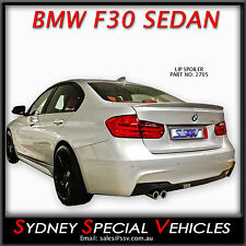 LIP SPOILER OR BOBTAIL FOR BMW 3 SERIES F30 2012-14 SEDAN - NEW ABS