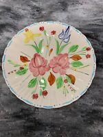 "Vintage BLUE RIDGE Southern Potteries WALTZ TIME 10"" Plate"