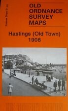 OLD ORDNANCE SURVEY MAP HASTINGS  (Old Town) SUSSEX 1908 SHEET 71.03