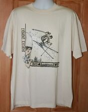 NEW VTG DEL SOL SKI SKIER T-SHIRT CHANGES TO COLOR IN SUN SIZE XL FREESTYLE 90's