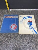 (2) Vintage Pennsylvania HighSchool Yearbooks Caliber 1963, & 1964 Laureldale PA