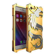 Luxury Dragon Aluminum Shockproof Protection Case For iPhone 6 6s 7 8 Plus Cover
