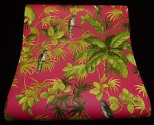 "05550-30-) 6 Rollen Design Tapeten ""Tropical Paradise"" Paradies-Vögel"