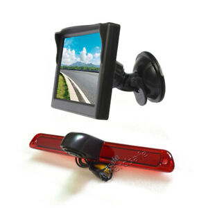 Reversing Camera & Suction Cup Rear View Monitor Screen for Sprinter van