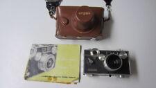 Vintage Argus C3 35mm Rangefinder Camera, Case, Strap & Manual