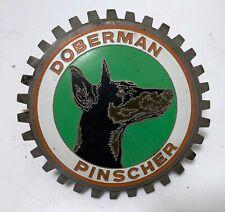 Vintage Doberman Pinscher Car Grille Badge /Emblem.German?
