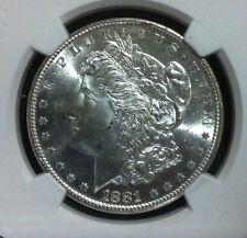 1881-S Morgan Silver Dollar - NGC MS 65+