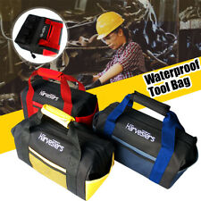 """12"""" Portable Heavy Duty Handle Tool Bag Work Storage Pouch Electricians Plumbers"""