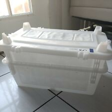 Free pick 2 x Taconic Live Animal Rat Rodent Transit Cage Shipping Bin Container