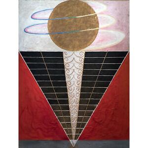 Hilma Af Klint Group X No 2 Altarpiece Abstract Huge Wall Art Poster Print