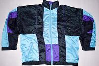 Trainings Jacke Weste Bad Taste Track Top Vest Jacket 90er Fasching Karneval  L