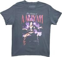 New Men's Aaliyah In Memory Of Vintage Graphic R&B Singer T-Shirt Retro Tee