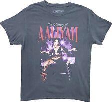 New Men's Aaliyah In Memory Of Vintage Graphic R&B Singer T-Shirt Retro Tee