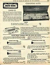 1962 Print Ad of Mill Run Brite-BoreCleaning Kit & Tri-Pak Cleaning Rods