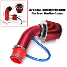 Automobile Cold Air Intake Filter Induction Pipe Power Flow Hose System Part Kit
