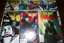 Batman Legends of the Dark Knight #1,2,3,5,6,7,8 run set NM lot