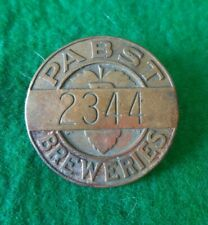 Vintage Service Company Pin Pabst Breweries Pbr Beer