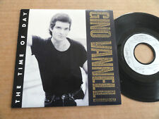 "DISQUE 45T DE GINO VANNELLI  "" THE TIME OF DAY """