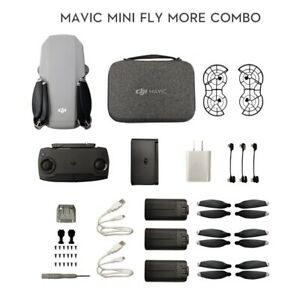 DJI Mini Mavic Drone Fly More Combo Pro Plus