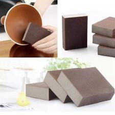 2pcs Sand Sponge Pans Clean Kitchen Magic Pots Coke Stains Cleaning Brush New