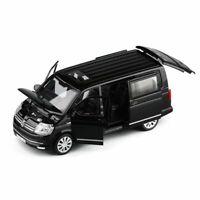 1:32 Alloy Bus Volkswagen Multivan T6 Toy Car Diecast Model Children Gift Boys