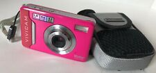 Vivitar ViviCam 5022 Pink Camera And Case with strap, No Memory Card