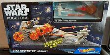 Hot Wheels Starships Star Wars Rogue One Star Destroyer Assault Die-Cast NEW