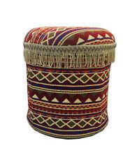 Round Arabian Pouf
