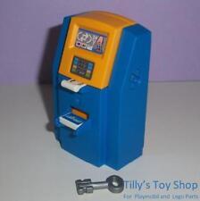 Playmobil aeropuerto billete máquina, clave & tarjeta bancaria para conjuntos de vacaciones-Nuevo