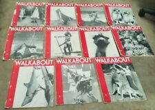 1939 WALKABOUT Magazines X 11