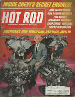 Vintage HOT ROD Magazine December 1967 Issue