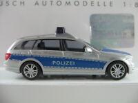 """Busch 43661 Mercedes-Benz C-Klasse T-Modell (2007) """"POLIZEI"""" 1:87/H0 NEU/OVP"""