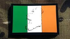 Embossed Ireland Irish Flag Airsoft PVC Patch