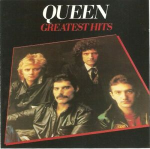 Queen - Greatest Hits (CD 1991) No Barcode; Reissue; Mis-spelt Track Title