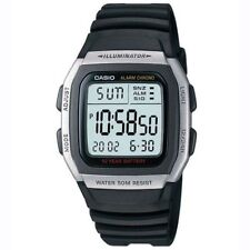 Casio Mens Digital Alarm Watch W-96H-1AVES 50m Water Resistance 10 Year Battery