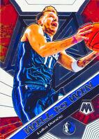 Luka Doncic 2019-20 PANINI MOSAIC WILL TO WIN Insert Card #13 Dallas Mavericks